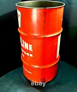 Vintage Sinclair Oil Old Tin Can With Dinosaur Graphic Nice Can RARE LARGE SIZE
