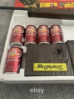 Vintage Tin Can Alley Rare (dr Pepper) Boxed By Ideal