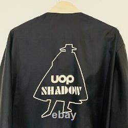 Vintage UOP Shadow Racing Team Jacket Mens 1970s Black Can Am Sz L RARE w