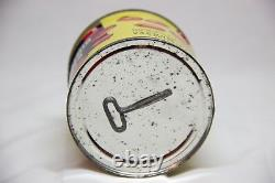 Vintage Ultra Rare Indian Salted Pistachio Nuts Agress Seed Co Tin Can New York