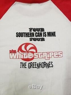 Vtg White Stripes Greenhornes Your Southern Can Is Mine Tour Shirt Rare Size XL