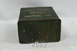 Wakefield Castrol WRG Motor Oil 2 Gallon Petrol Can/Tin RARE Vintage